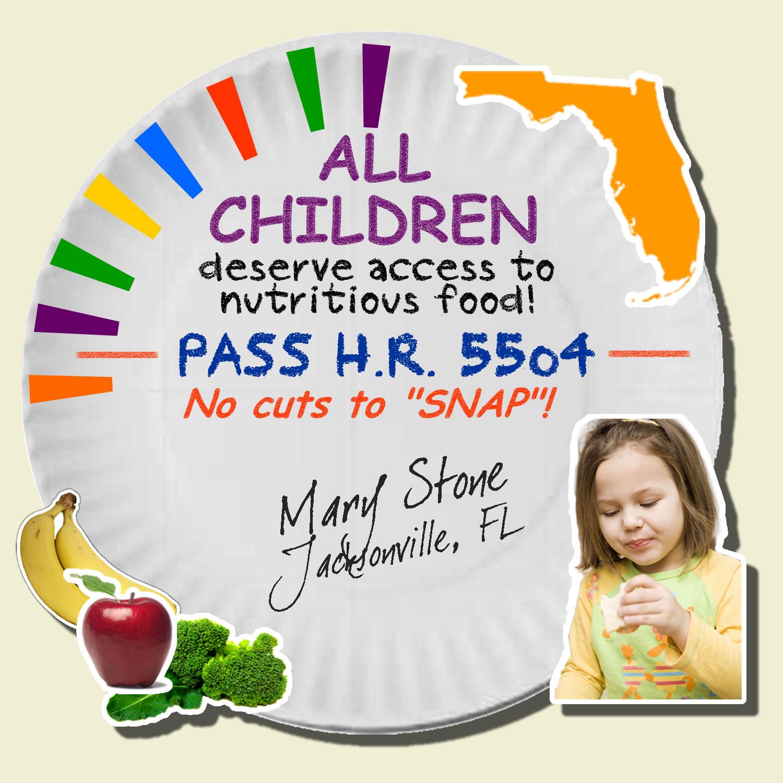 Florida Food Stamps Fact Sheet